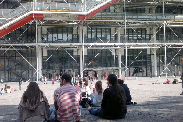 Centre Pompidou in Paris