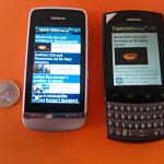 Bild von Nokia Asha 303 und 311